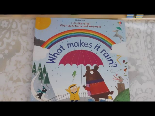 Lift-the-Flap First Questions and Answers: What Makes it Rain? Usborne Books More