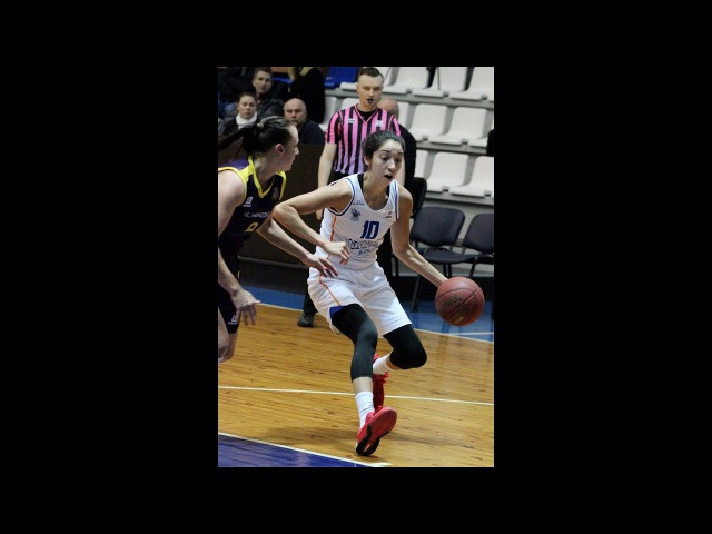 Rachel Theriot steal and 2pt made in game Tsmoki Minsk Tim Skuf