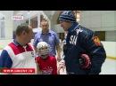 Новости • Спортсмены из тренировочного центра «Магия хоккея» проводят мастер-классы для детской сборной ЧР