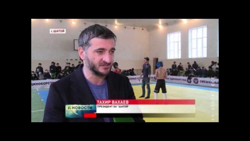 Новости • Впервые в Шатое турнир по панкратиону