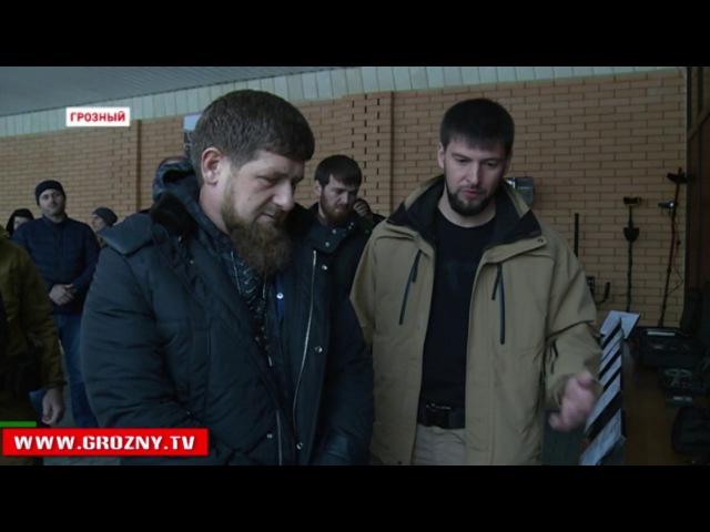 Новости • Глава Чечни оценил готовность саперов, кинологов и взрывотехников