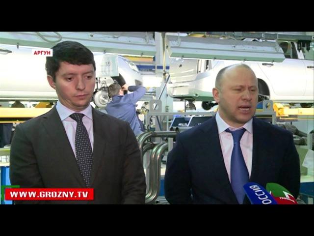 Новости • В Аргуне прошла презентация промышленной сборки Lada Granta