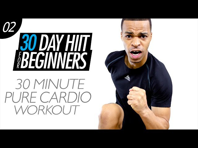 30 Min. Easy Cardio Home Workout for Beginners | Beginner HIIT 02