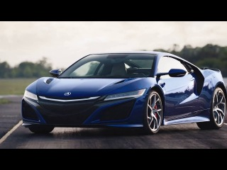 Meet the all-new 2017 Acura NSX on the Track