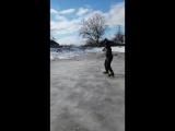 Бутрій.. обучения на коньках
