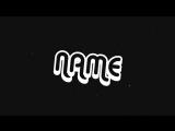 FREE BLACK Intro Template #1