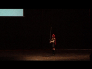 ОДИНОЧНОЕ ДЕФИЛЕ - Fairy Tail (Erza Scarlet) - Alistair (Тогучи 2017)