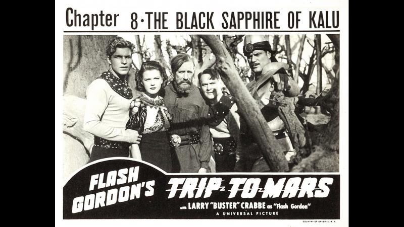 Путешествие Флеша Гордона на Марс (1938) epi 8 - The Black Sapphire of Kalu