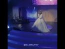 Невеста поёт для жениха.Свадьба