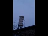 Вертикально осевой ветрогенератор компании АльтЭнергия.