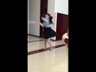 Girl has serious skills with the nunchuks