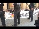 Live-Mitschnitt IB Aktion vor dem Bundesjustizministerium