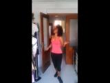 Johanna bailando Bachata Dominicana Guerra de Amor de Yoskar Sarante