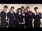 21.03.2017 BOYFRIEND in Haru Hana Magazine Twitter Update