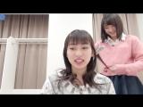 Uemura Akari hair arrangement with Miyamoto Karin (H!S #205)