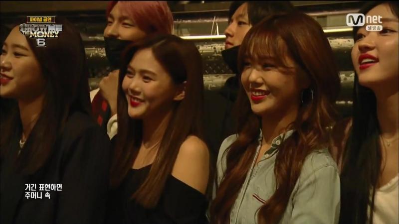 · Show|Cut · 170901 · OH MY GIRL (Hyojung, Mimi, Yooa and Jiho) · Mnet