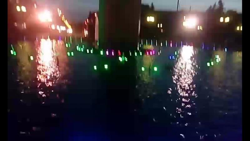 фонтан на площади победы в городе Калуга
