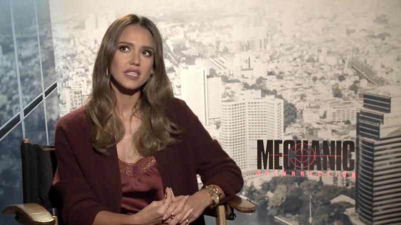 HD: Интервью к фильму Механик: Воскрешение (август 2016)