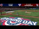MLB The Show 17 Gameplay ⚾ Opening Day 2017 ⚾ Cubs vs Cardinals (Full MLB Network Broadcast)