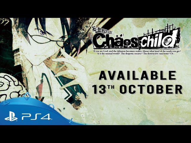 CHAOS;CHILD | New Generation Madness Trailer | PS4
