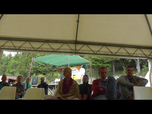 Pranic Breathing part 2 PWF 2017 fouth workshop with Olga ENG РУС