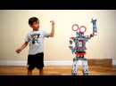 Building a Robot Meccano | Family Fun | Talking Robot Toy | Toy Review | Kid Plays with Robot
