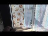 Теплые портальные двери из пластика