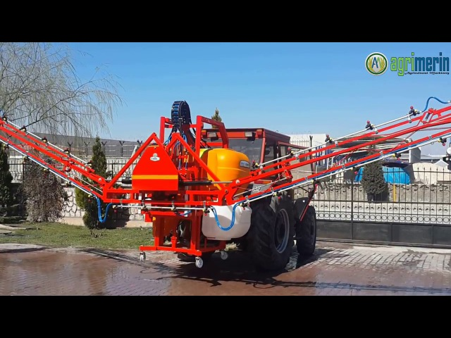 Agrimerin AMMFS 1000 with Italian Type Folding Boom