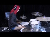 Whiplash and Caravan - HD Drum Cover By Devikah
