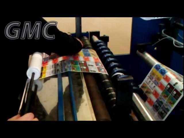 Печать на чековой ленте. GMC.
