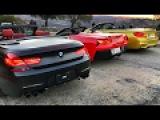 Гонки по Лос-Анджелесу и ситуация с копами - взяли BMW M4 кабрик + M6, Corvette, DODGE 700 сил и