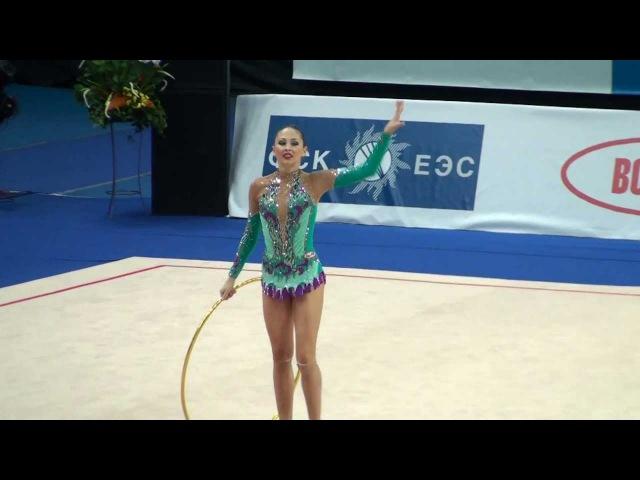 Дарья Кондакова - обруч (многоборье) Гран-при Москва 2011