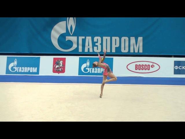 Дарья Кондакова - мяч (многоборье) Гран-при Москва 2011