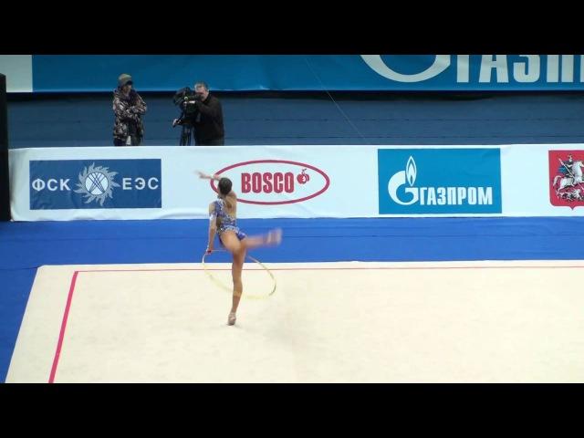 Дарья Дмитриева - обруч (финал) Гран-при Москва 2011