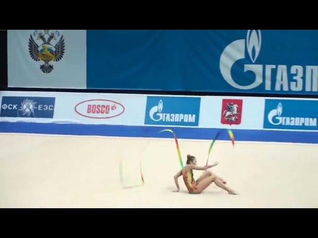 Дарья Кондакова - лента (многоборье) Гран-при Москва 2011