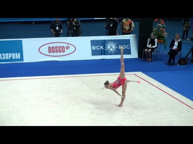Дарья Кондакова - булавы (финал) Гран-при Москва 2011
