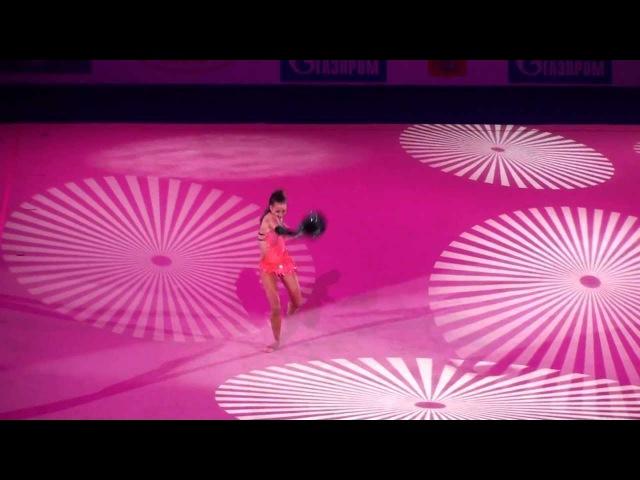 Дарья Дмитриева - показательное выступление (гала) Гран-при Москва 2011