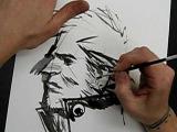 Sean Gordon Murphy draws John Constantine