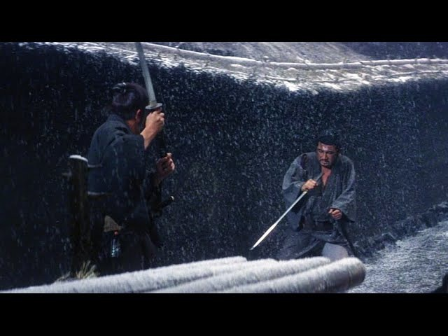 The Greatest Japanese Movie Sword Fight OF ALL TIME!