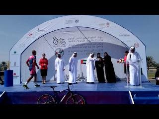 Сергей Попок - победитель 4-го этапа велогонки Sharjah Tour