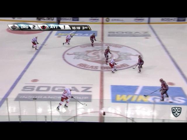 КХЛ (Континентальная хоккейная лига) - Моменты из матчей КХЛ сезона 16/17 - Гол. 3:1. Толузаков Фили