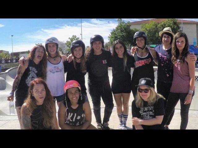 Women's BMX Mixtape Vans BMX Pro Cup Malaga insidebmx