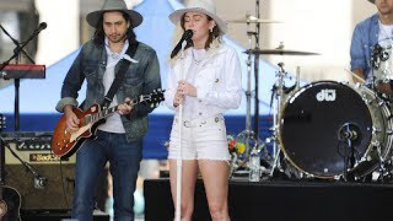 Miley Cyrus - Inspired (Today Show sound check 2017)