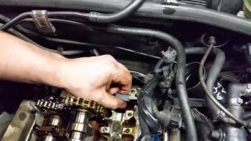 VW AUDI Wymiana napinacza łańcuszka rozrzadu 1.8 ADR AEB AWT Camshaft Chain Tensioner