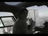 WTC UFO Sighting Prior to the 9-11 Incident (ENHANCED)