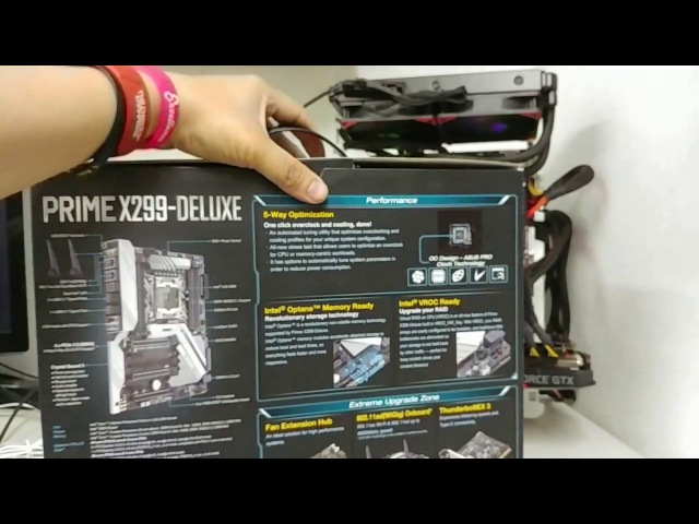 ASUS PRIME X299-DELUXE Motherboard Unboxing and Overview