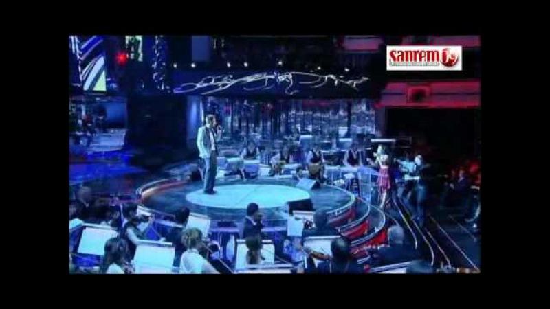 Sanremo 2009 - Marco Carta - La Forza Mia.avi