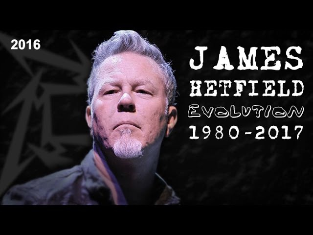 The Transformation of JAMES HETFIELD - Amazing chronology