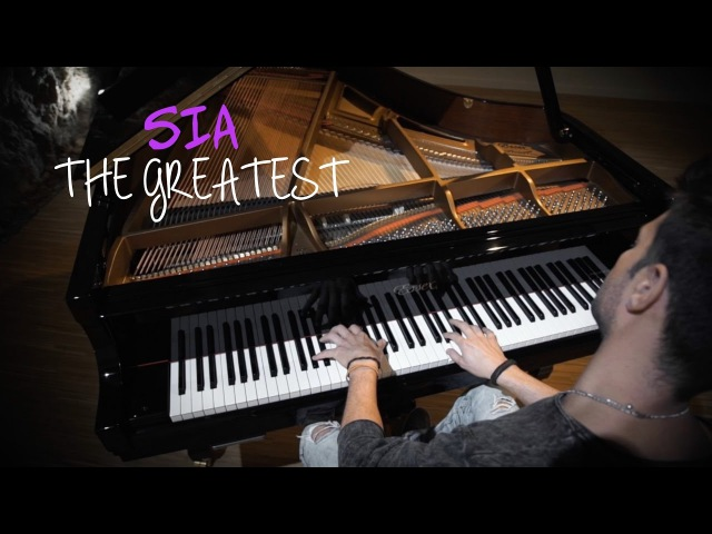SIA - The greatest (Piano cover)