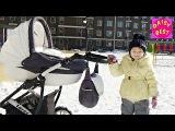 Знакомьтесь моя сестра Лера Прогулка на снегу Большие горки